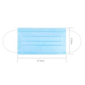 2020 Best Disposable Medical Surgical Face Mask with 3 Ply Filter