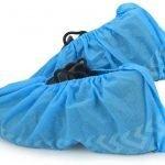 Desechable no tejido impermeable a prueba de saltos PP / CPE / SMS / cubierta del zapato
